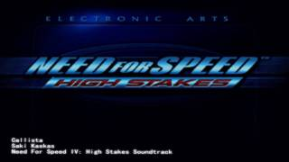 Need for Speed IV Soundtrack - Callista