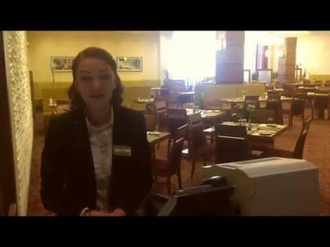 Эльвира - администратор ресторана в отеле Hilton Garden Inn Krasnoyarsk