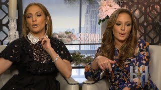 Jennifer Lopez And Leah Remini Reveal Favorite Old School Hip-Hop Jam