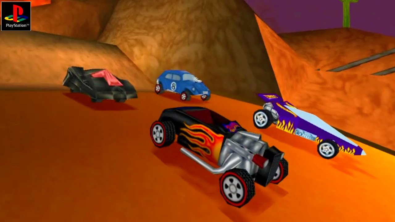 Download Kumpulan Game Hot Wheels PS1 Terlengkap - RonanElektron