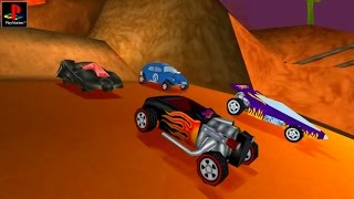 Hot Wheels Turbo Racing - Gameplay PSX / PS1 / PS One / HD 720P (Epsxe)