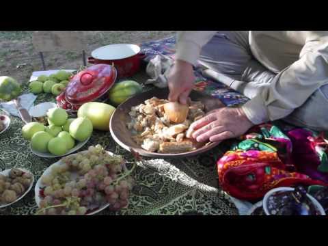 Fatirmaska, Tajik traditional food/ Фатирмаска.