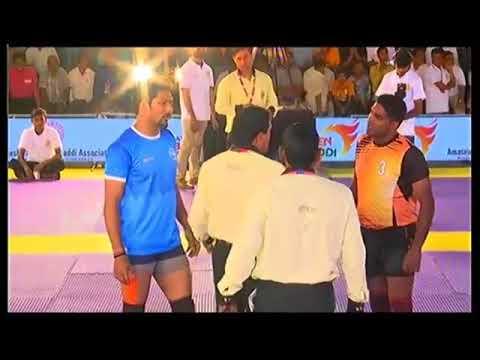 MAHARASHTRA v.s UTTHAR PRADESH /FEDERATION CUP 2018/KABADDI AT MUMBAI