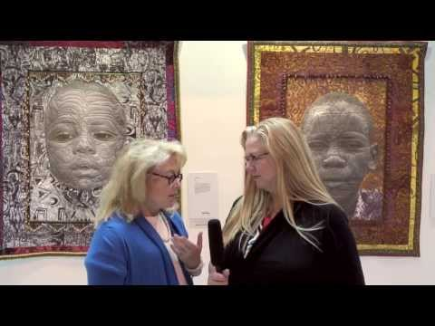 Festival Of Quilts 2013 - Birmingham UK - Mary Fisher Interview