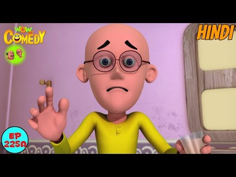 Dr Jhatka Ki Washing Machine Motu Patlu In Hindi 3d Animated Cartoon