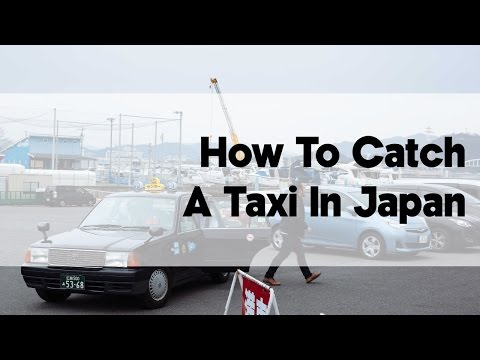 How To Catch a Taxi in Japan | Japan Video Travel Guide | Hidden Japan