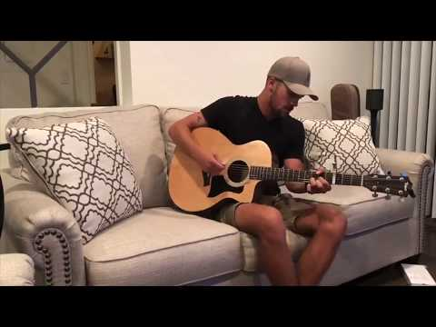 """Anything But Mine"" Kenny Chesney Cover By Jacob Morris"
