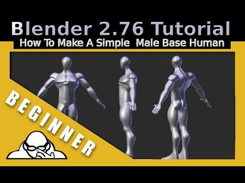 Tutorial: blender character modeling for beginners blendernation.