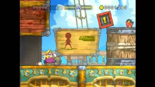 Wario Land Shake It! - Gameplay Wii (Original Wii)