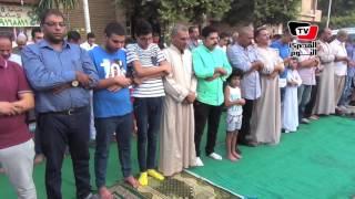الآلاف يؤدون صلاة عيد الأضحى ب«عمرو بن العاص»