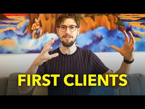 Starting a Digital Design Agency or Consultancy, Getting Your First Clients