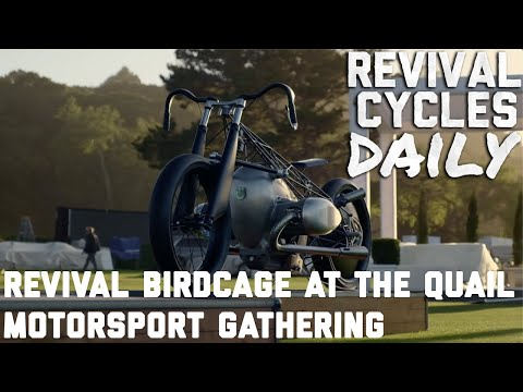 The Birdcage BMW R18 in a sea of supercars / The Quail Motorsports Gathering //Revival Daily 98