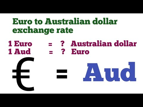 Euro To Australian Dollars Exchange Rate Today | Euro To Aud | Aud To Euro