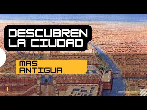 Sorprendente, Descubren la ciudad más antigua de la historia conocida en Irak.-