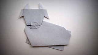 Origami - How To Make A Cow