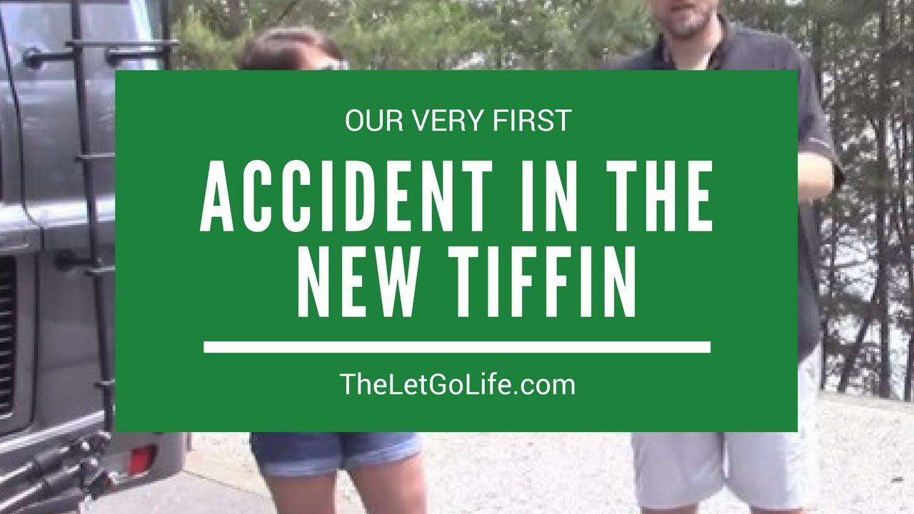 Technorv S First Mishap In The New Tiffin Phaeton 40ah