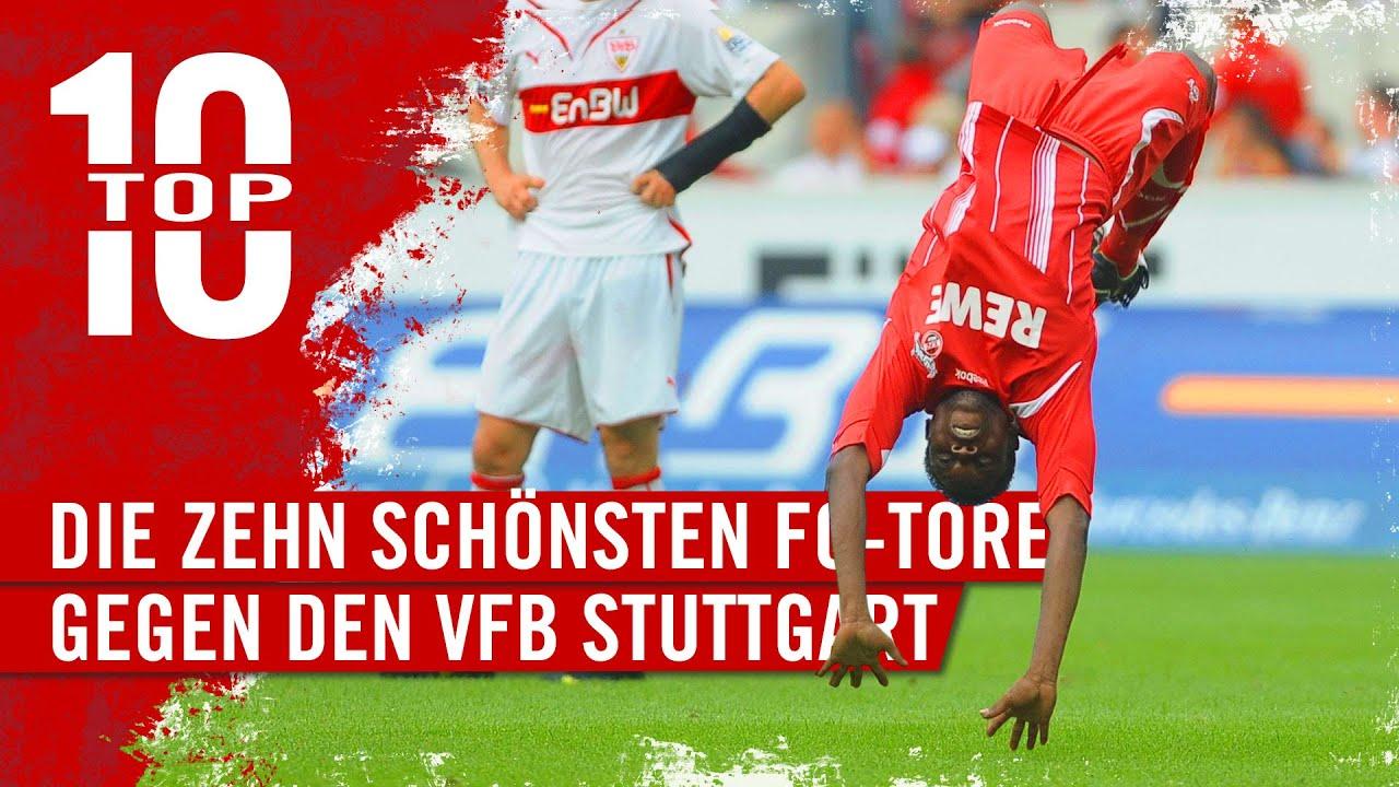 🔝 TOP TEN: Die besten FC-TORE gegen den VfB Stuttgart | 1. FC Köln | Sanou | Polster | Littbarski