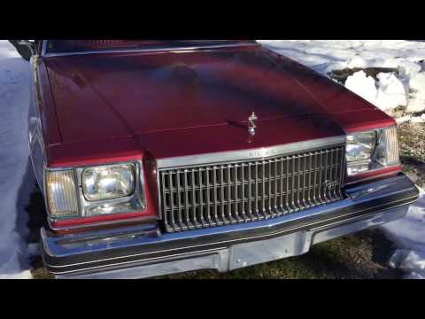 1979 Buick Regal Cold Start