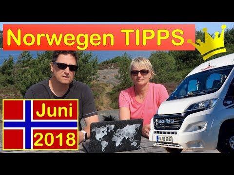 Norwegen Juni 2018 - Tipps