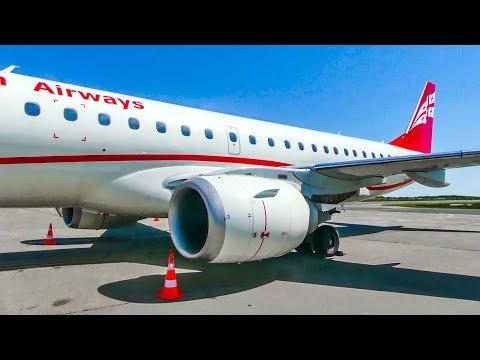 TRIPREPORT • Georgian Airways ERJ-190 | Tbilisi (TBS) - Berlin (SXF) | Economy
