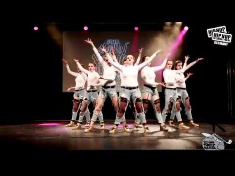 The B King Family -  German Hip Hop Dance Championship 2016 Süd/West Qualifier