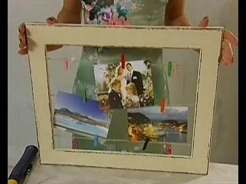 украшения рамок для фото своими руками из