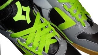 **How to Spider Web Lace your Shoes with NO BOW**