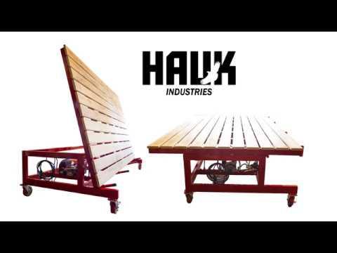 Hydraulic Stone Slab Tilting Table