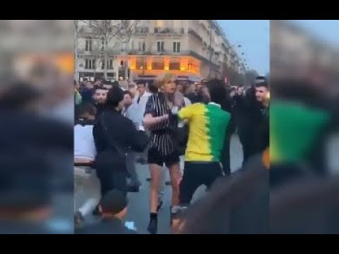 Trans Woman Attacked by Algerians in France