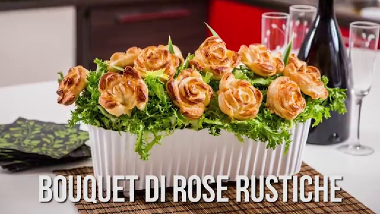 Favoloso Bouquet di Rose Rustiche - Short Movie VisualFood - YouTube YF35