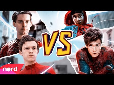 The Spider-Man Rap Battle  by NerdOut ft Fabvl Zach Boucher & Dreaded Yasuke