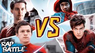 The Spider-Man Rap Battle | by #NerdOut ft. Fabvl, Zach Boucher, & Dreaded Yasuke
