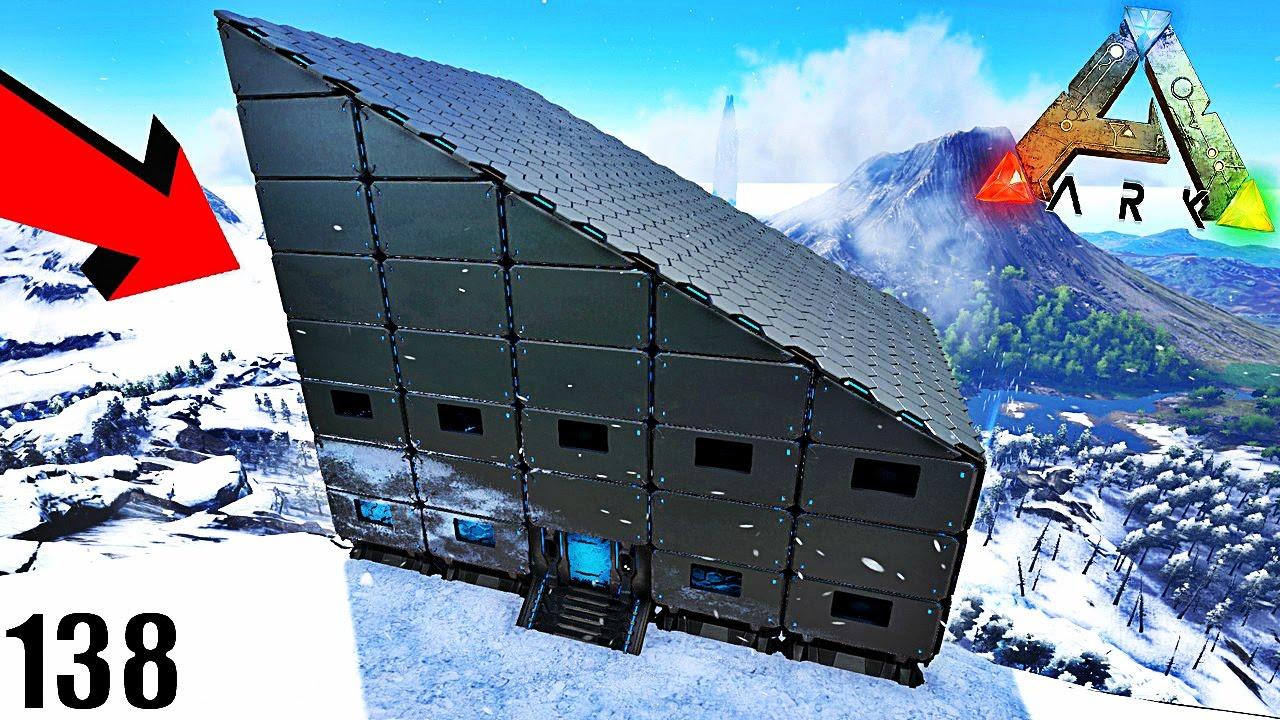 ma nouvelle maison du futur ark survival evolved ep138 youtube. Black Bedroom Furniture Sets. Home Design Ideas