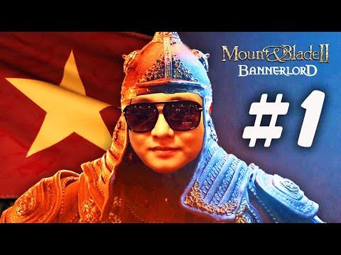 MOUNT & BLADE 2 1: CỜ VIỆT NAM TUNG BAY CÙNG THÀNH CÁT TƯ DŨNG !!! Chiến trường chân thực quá !!!
