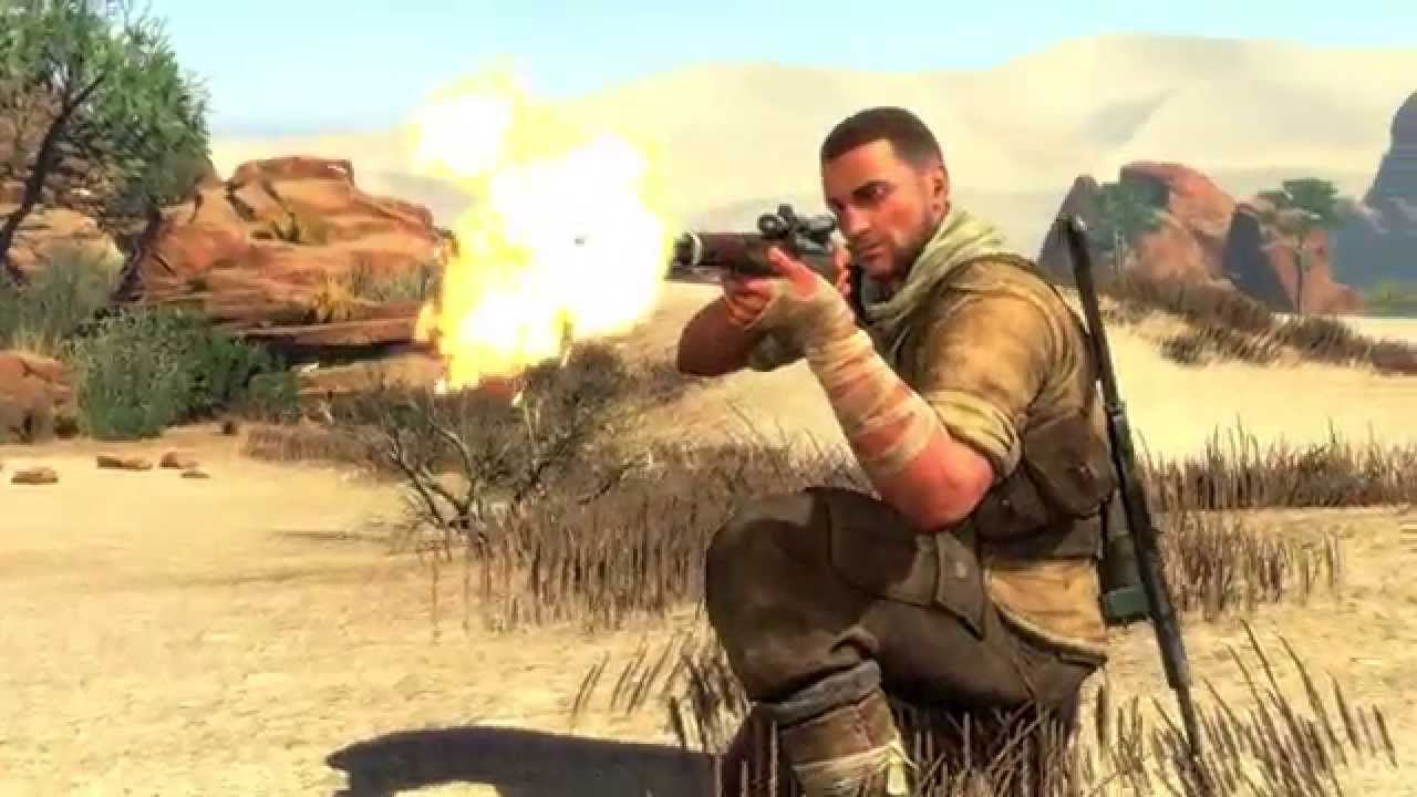 Review game computer Sniper Elite 3