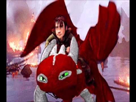 how to train your dragon girl night fury