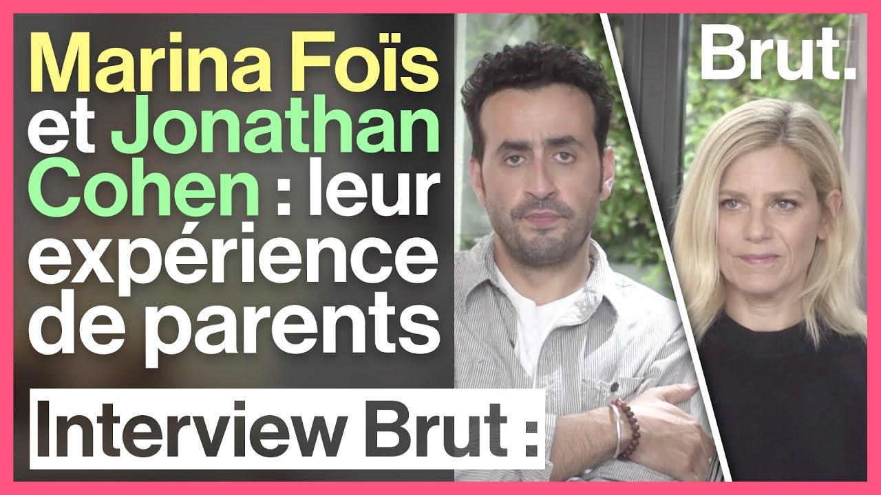 Marina Fois Et Jonathan Cohen Leur Experience De Parents Youtube