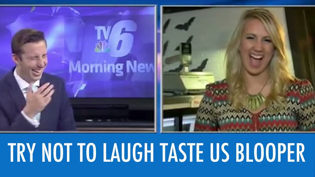 News Reporters Can't Stop Laughing At Word Blooper