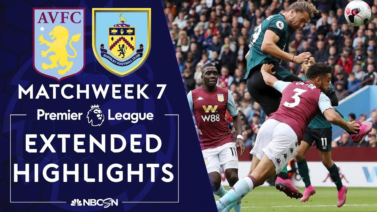 Aston Villa v. Burnley | PREMIER LEAGUE HIGHLIGHTS | 9/28/19 | NBC Sports