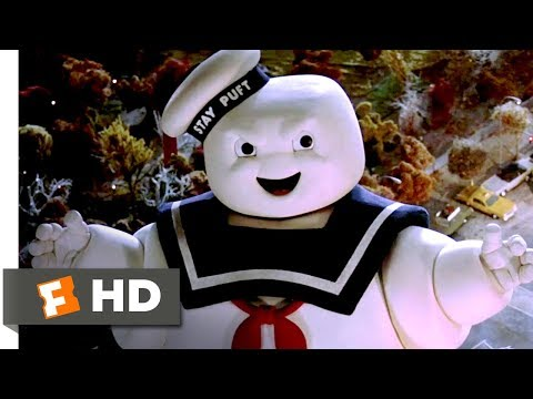 Ghostbusters (8/8) The Stay Puft Marshmallow Man Movie CLIP -  (1984) HD
