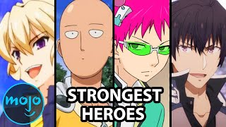 Top 10 Anime Series Where the Hero is Overpowered