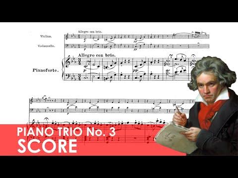 BEETHOVEN Piano Trio No. 3 in C minor (Op. 1, No. 3) Score