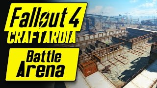 Fallout 4 Starlight Drive In Battle Arena Wasteland Workshop - Fallout 4 Settlement Building PC