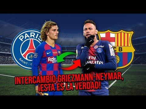 Intercambio Griezmann Neymar, ¡El sueño que muchos quieren hacer realidad!