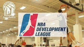 NBA D-League National Tryouts @ Basketball City NYC