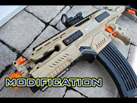 [MOD] Tactical Nerf Rapidstrike Modification - Flat Top!