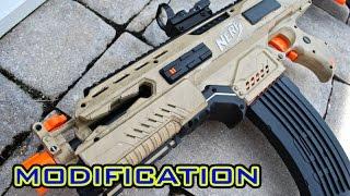 [MOD] Tactical Nerf Rapidstrike Modification - Flat Top!