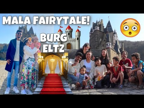 NAGAMIT DIN ANG AMING SASAKYAN! FAMOUS CASTLE IN GERMANY!| BURG ELTZ!|BYAHE WITH 6KIDS!|TEAM BLENDED