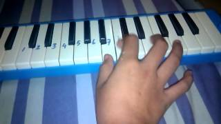 Sentuh hatiku pianika