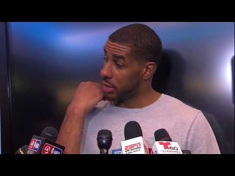 LaMarcus Aldridge Postgame Interview / Spurs vs Pelicans